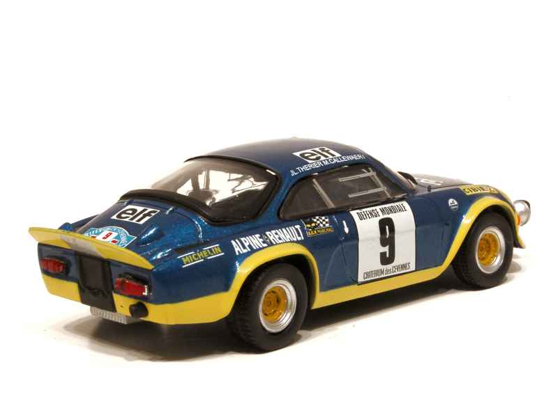 alpine a110 turbo cevennes 1972 x press h 1 43 autos miniatures tacot. Black Bedroom Furniture Sets. Home Design Ideas