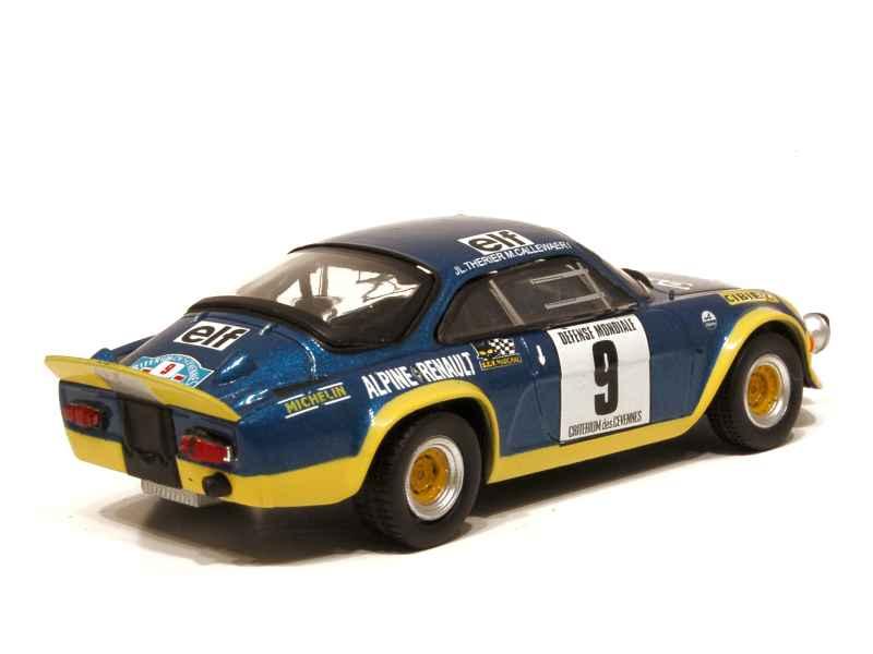 alpine a110 turbo cevennes 1972 x press h 1 43 autos miniatures tacot. Black Bedroom Furniture Sets. Home Design Ideas