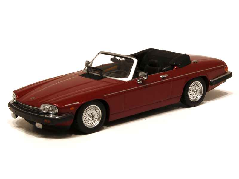 jaguar xj s cabriolet 1980 minichamps 1 43 autos miniatures tacot. Black Bedroom Furniture Sets. Home Design Ideas