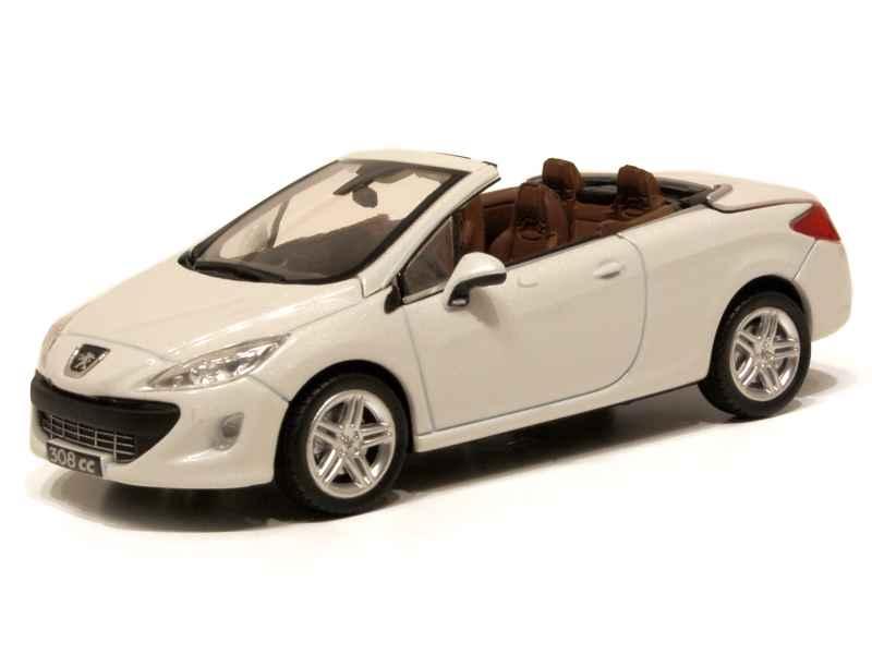 peugeot 308 cc 2009 norev 1 43 autos miniatures tacot. Black Bedroom Furniture Sets. Home Design Ideas