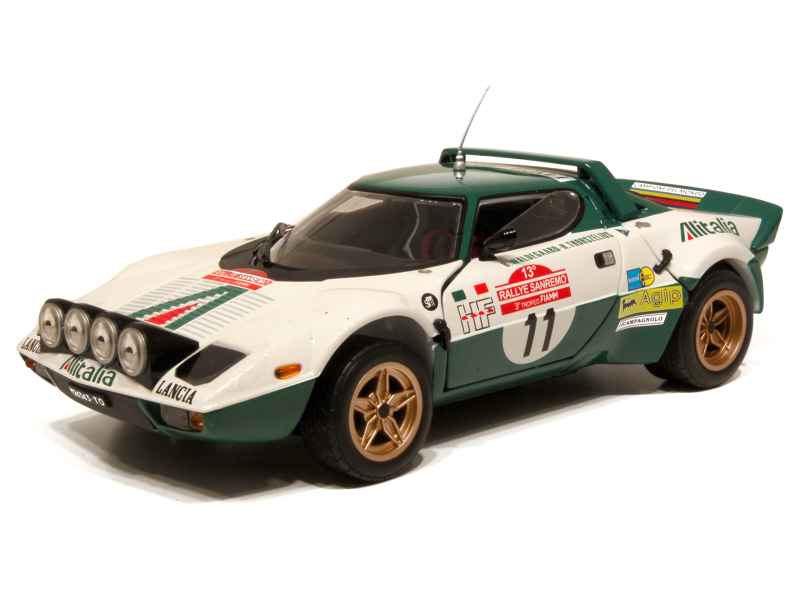 lancia stratos hf rally san remo 1975 mondo motors 1 18 autos miniatures tacot. Black Bedroom Furniture Sets. Home Design Ideas
