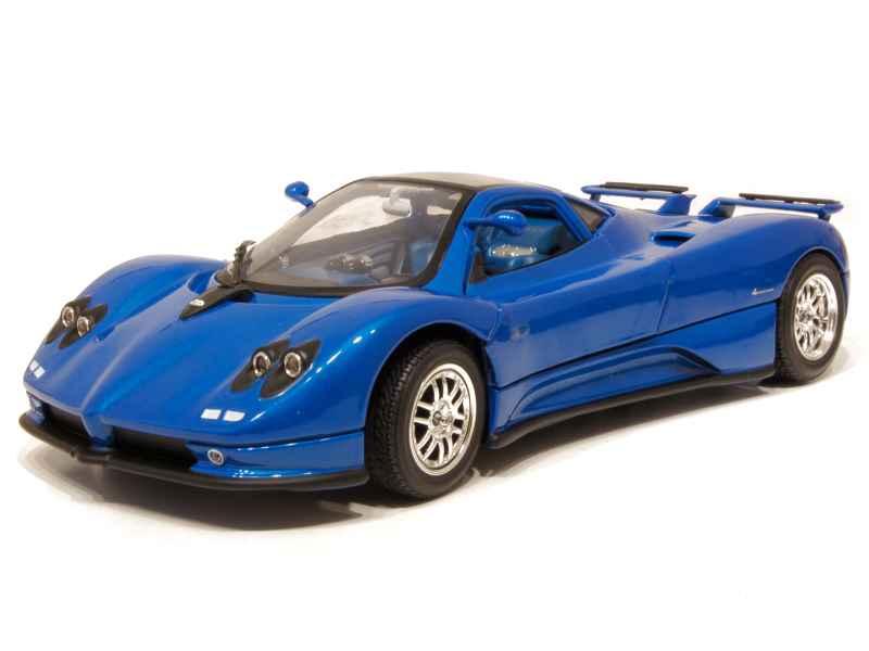 pagani zonda c12s coup 2001 mondo motors 1 18 autos miniatures tacot. Black Bedroom Furniture Sets. Home Design Ideas