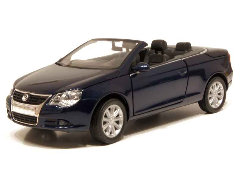 volkswagen eos cabriolet 2006 mondo motors 1 24 autos miniatures tacot. Black Bedroom Furniture Sets. Home Design Ideas