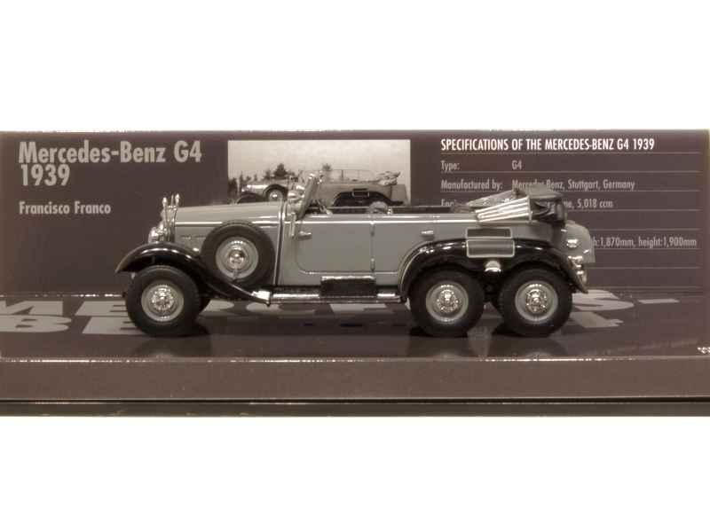 mercedes g4 6x6 cabriolet w31 1939 minichamps 1 43 autos miniatures tacot. Black Bedroom Furniture Sets. Home Design Ideas