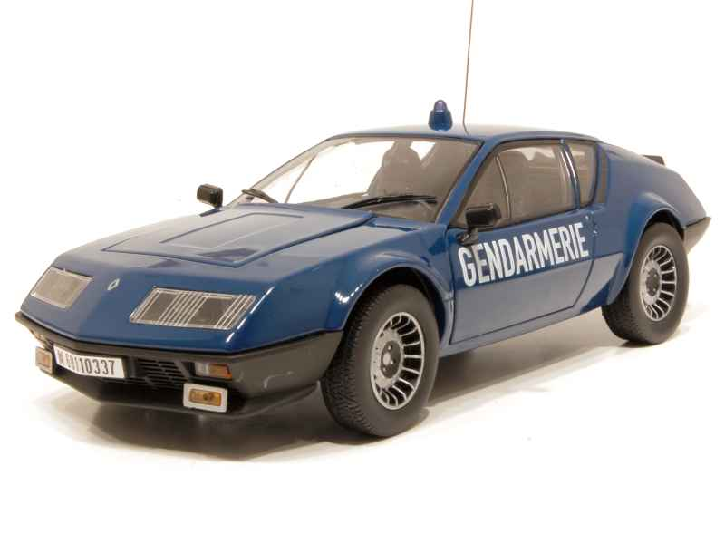 alpine a310 v6 gendarmerie 1981 norev 1 18 autos miniatures tacot. Black Bedroom Furniture Sets. Home Design Ideas