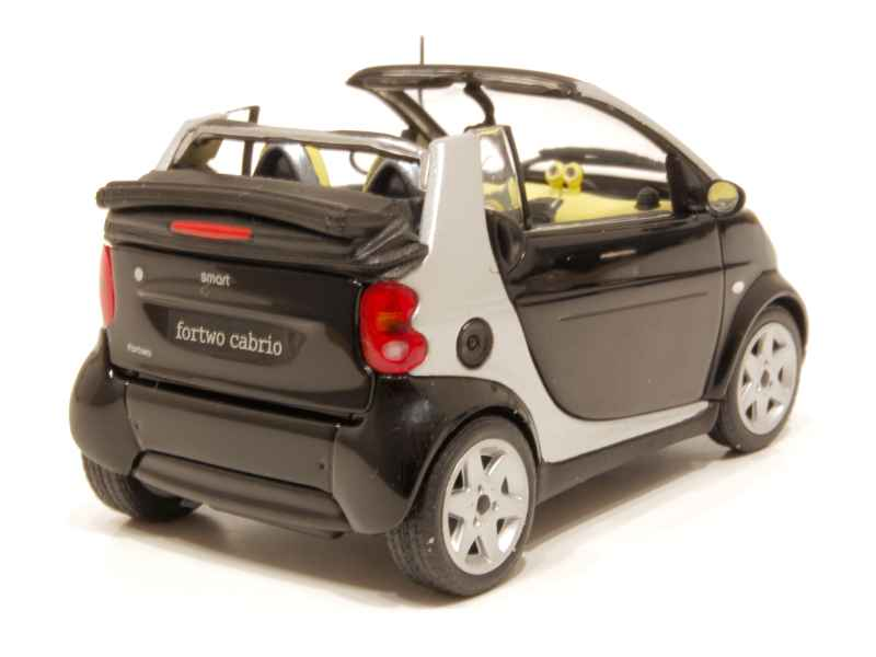 smart fortwo cabriolet 2006 minichamps 1 43 autos miniatures tacot. Black Bedroom Furniture Sets. Home Design Ideas