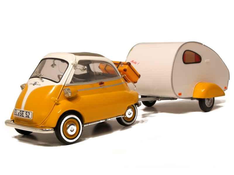 bmw isetta 250 camper caravane revell metal 1 18. Black Bedroom Furniture Sets. Home Design Ideas