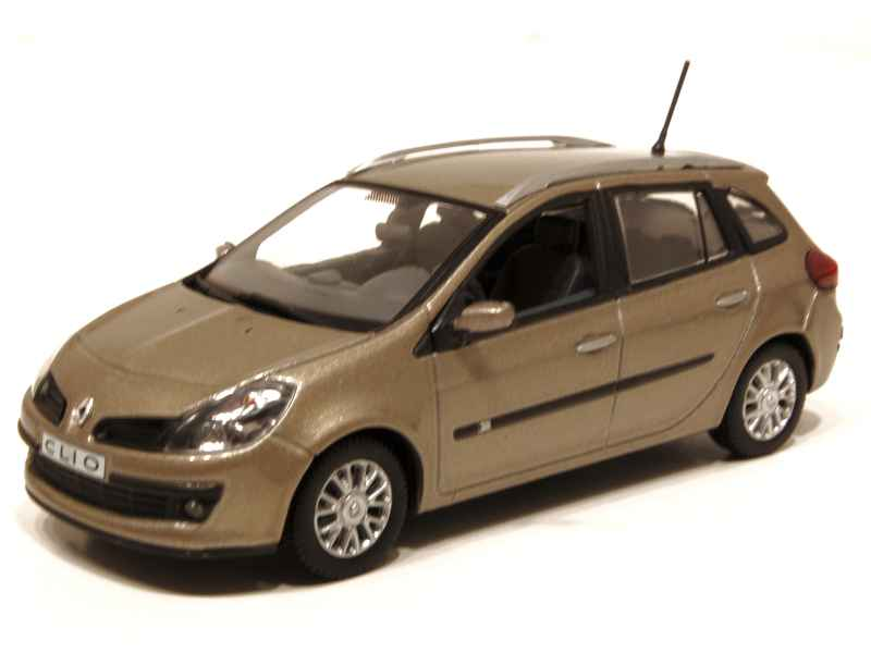 renault clio iii estate 2008 norev 1 43 autos miniatures tacot. Black Bedroom Furniture Sets. Home Design Ideas