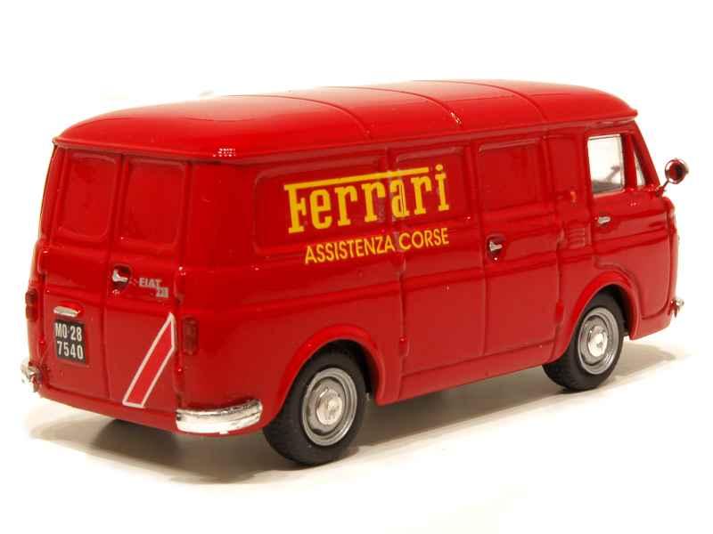fiat 238 fourgon ferrari 1972 progetto k 1 43 autos miniatures tacot. Black Bedroom Furniture Sets. Home Design Ideas