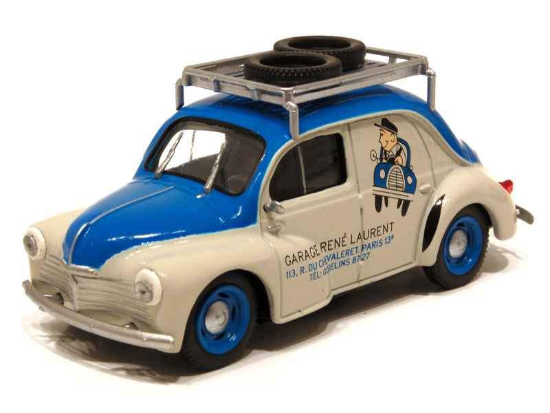renault 4cv commerciale 1949 mod le presse h 1 43 autos miniatures tacot. Black Bedroom Furniture Sets. Home Design Ideas