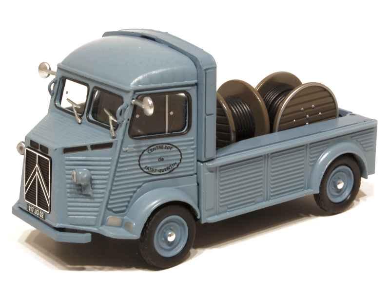 citro n hy plateau porte bobines 1963 x press h 1 43 autos miniatures tacot. Black Bedroom Furniture Sets. Home Design Ideas