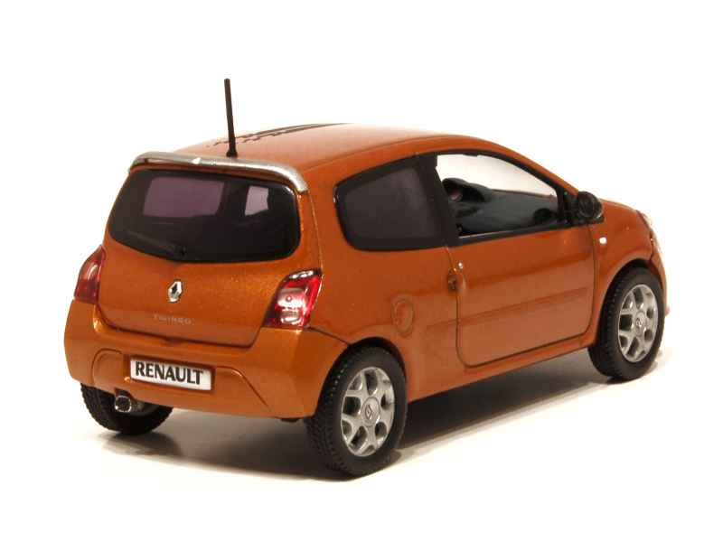 renault twingo ii gt 2008 norev 1 43 autos miniatures tacot. Black Bedroom Furniture Sets. Home Design Ideas