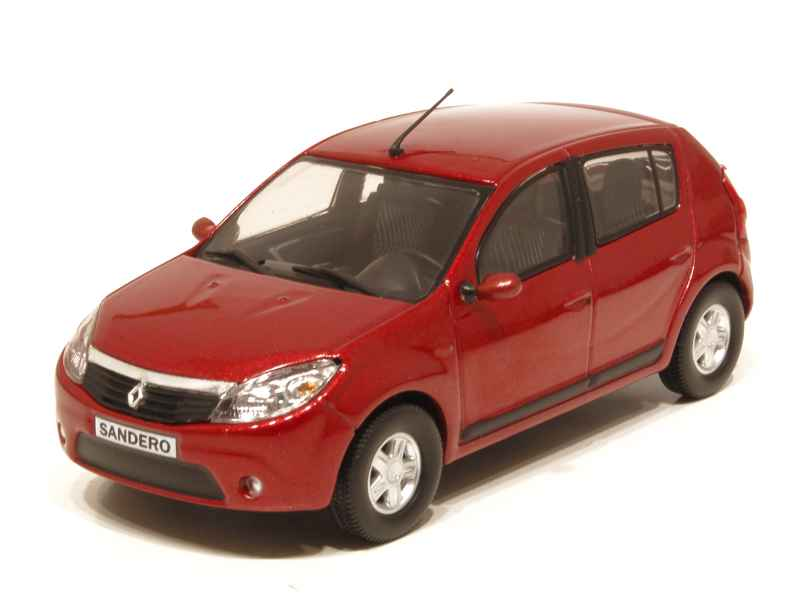 renault dacia sandero 2008 eligor 1 43 autos miniatures tacot. Black Bedroom Furniture Sets. Home Design Ideas