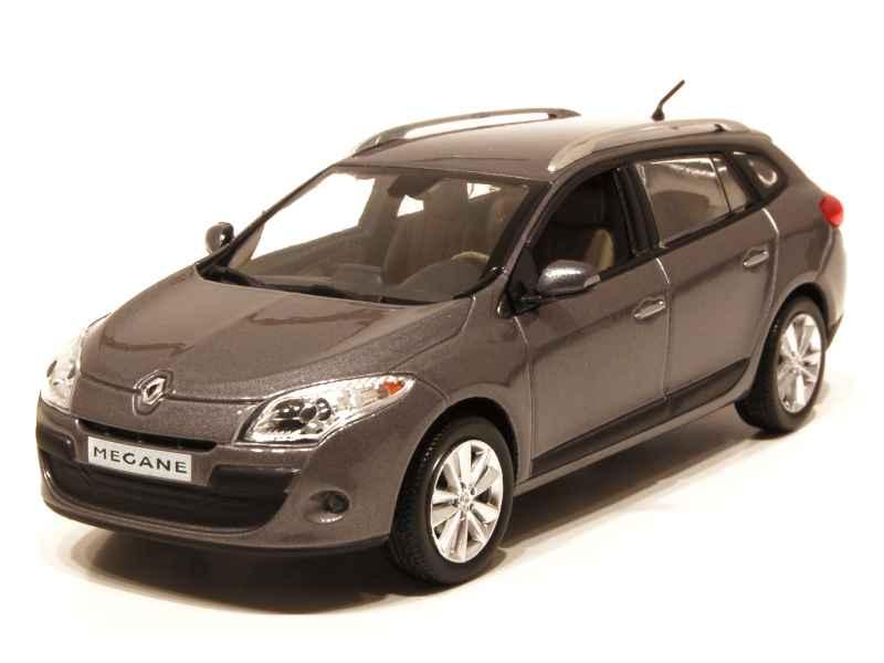 Renault megane iii estate 2009 norev 1 43 autos miniatures tacot - Megane 3 coupe gris cassiopee ...