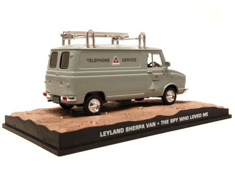 59726 Leyland Sherpa Van James Bond 007