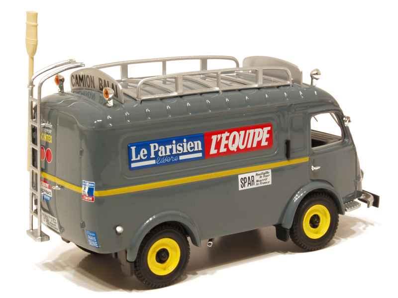 renault 1000 kg tour de france 1961 norev 1 43 autos miniatures tacot. Black Bedroom Furniture Sets. Home Design Ideas