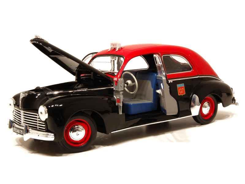 peugeot 203 berline taxi g7 solido 1 18 autos miniatures tacot. Black Bedroom Furniture Sets. Home Design Ideas