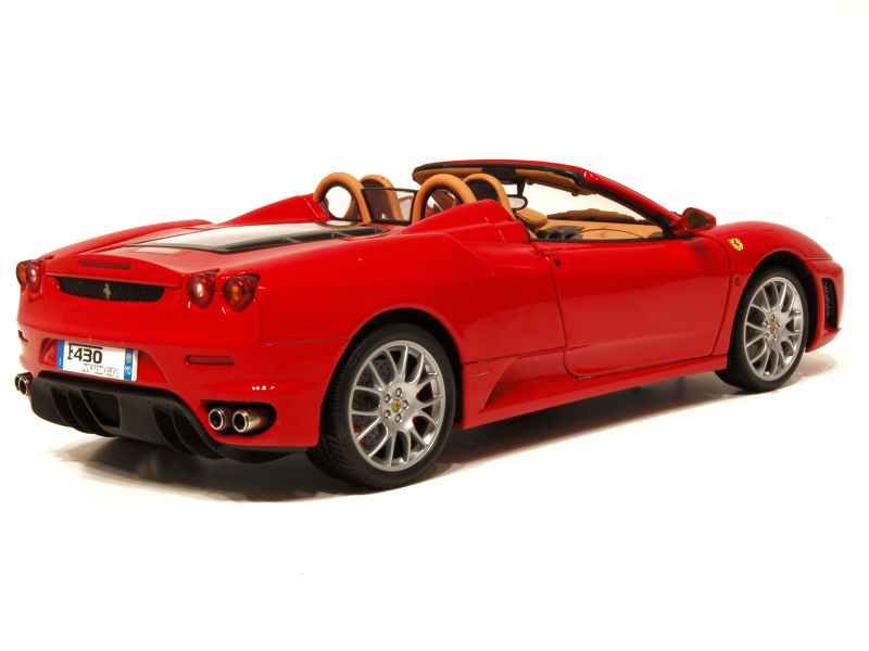 ferrari f430 spyder 2005 bbr 1 18 autos miniatures tacot. Black Bedroom Furniture Sets. Home Design Ideas