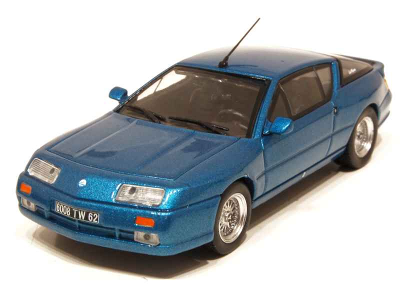 alpine v6 gt turbo le mans 1989 eligor 1 43 autos miniatures tacot. Black Bedroom Furniture Sets. Home Design Ideas