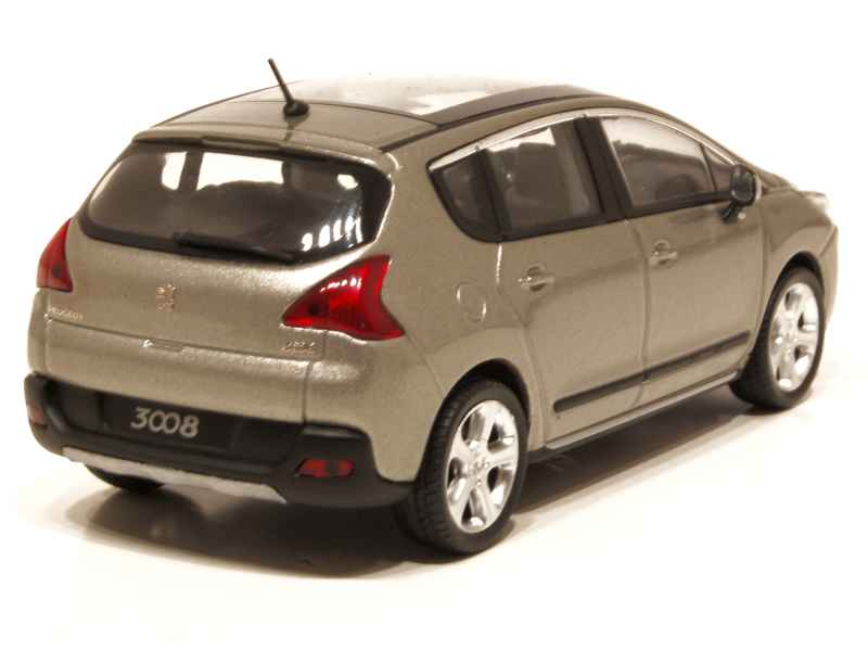 peugeot 3008 2009 norev 1 43 autos miniatures tacot. Black Bedroom Furniture Sets. Home Design Ideas