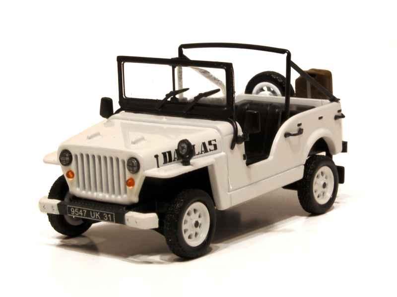 renault r4 jeep dallas 1983 mod le presse 6 1 43 autos miniatures tacot. Black Bedroom Furniture Sets. Home Design Ideas