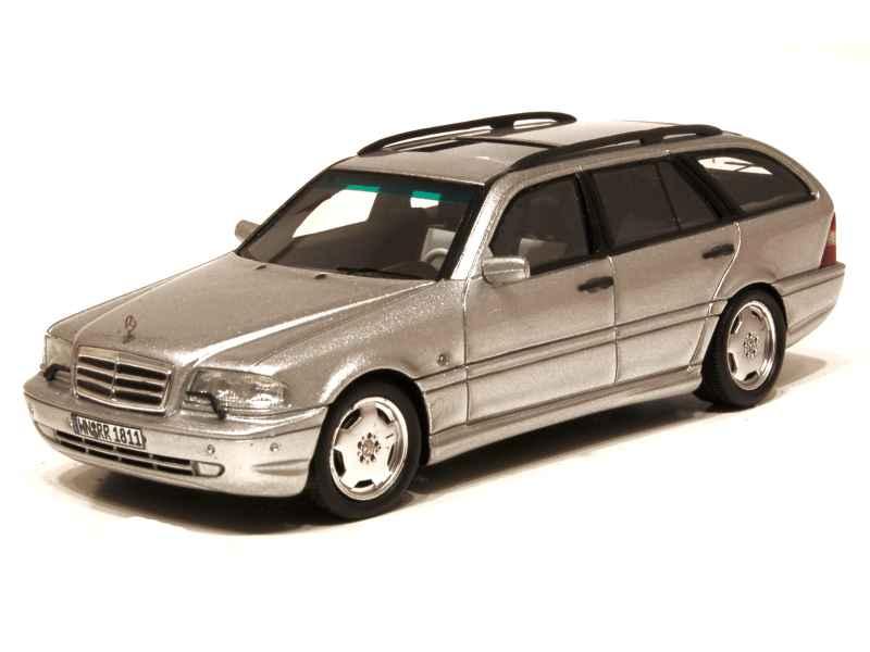 mercedes c43 amg break 1999 spark model 1 43 autos miniatures tacot. Black Bedroom Furniture Sets. Home Design Ideas
