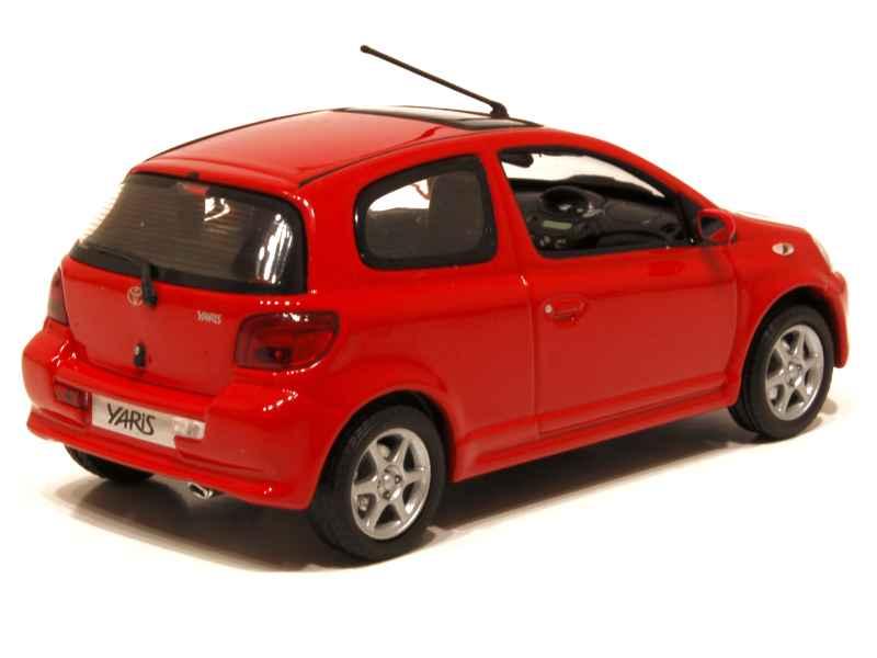 toyota yaris ts 2001 minichamps 1 43 autos miniatures tacot. Black Bedroom Furniture Sets. Home Design Ideas