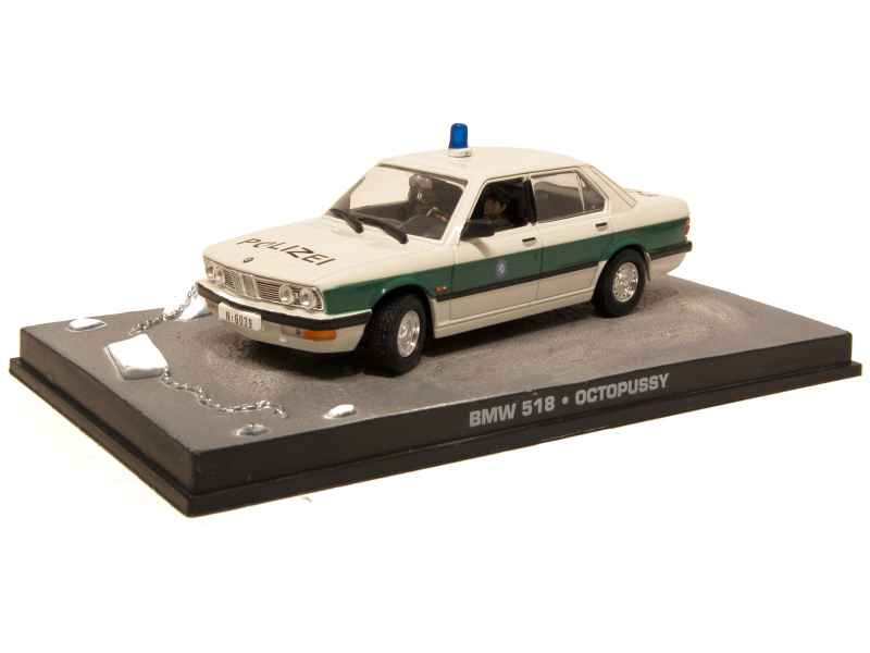 60860 BMW 518/ E28 Police James Bond 007