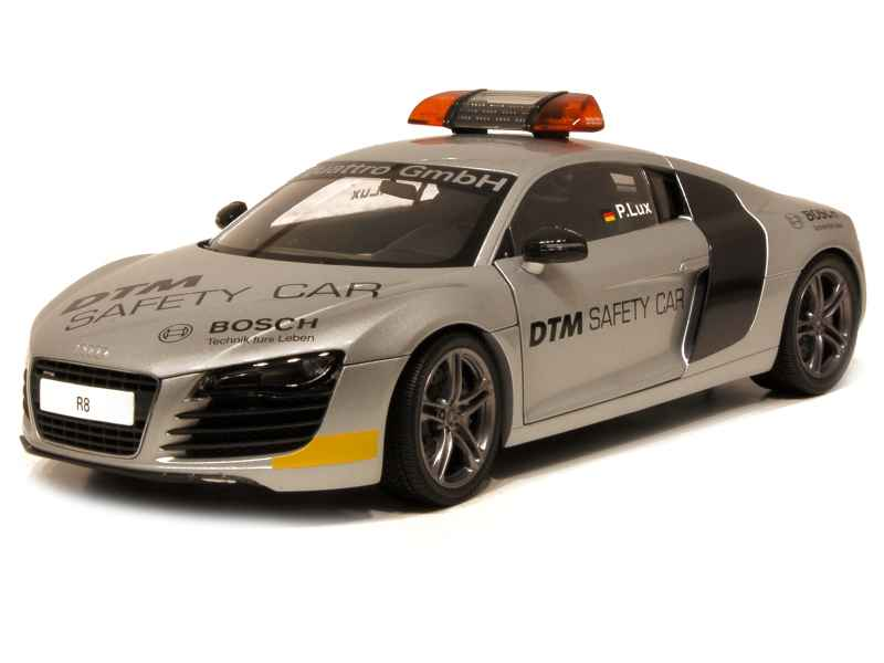 audi r8 v8 dtm safety car 2008 kyosho 1 18 autos miniatures tacot. Black Bedroom Furniture Sets. Home Design Ideas