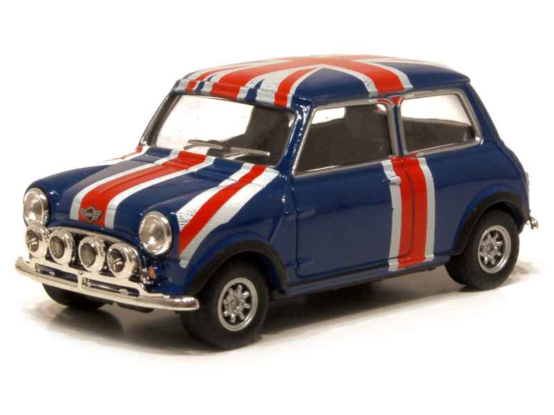 austin mini cooper union jack oliex 1 43 autos. Black Bedroom Furniture Sets. Home Design Ideas