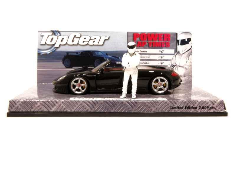 porsche carrera gt 2003 minichamps 1 43 autos miniatures tacot. Black Bedroom Furniture Sets. Home Design Ideas