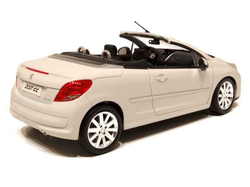 peugeot 207 cc 2009 norev 1 18 autos miniatures tacot. Black Bedroom Furniture Sets. Home Design Ideas