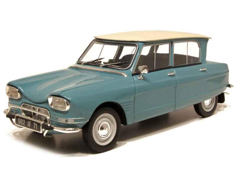 citro n ami 6 1963 norev 1 18 autos miniatures tacot. Black Bedroom Furniture Sets. Home Design Ideas
