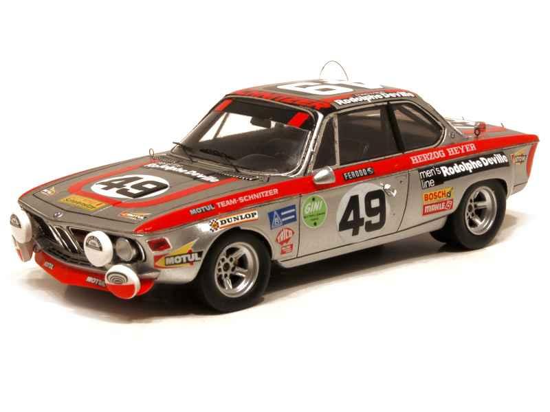 Bmw 2800 Cs E09 Le Mans 1972 Spark Model 1 43 Autos Miniatures Tacot