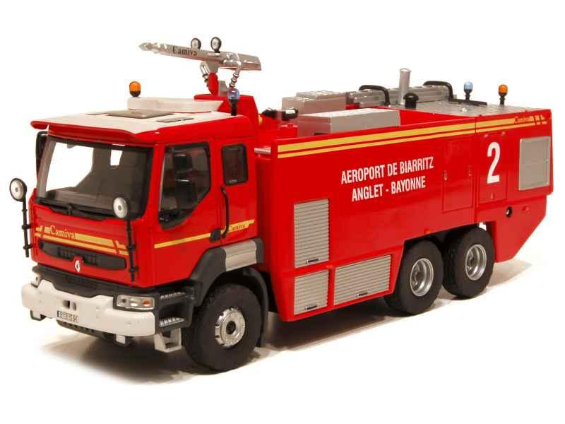 renault lander pompiers a roport de biarritz eligor 1 43 autos miniatures tacot. Black Bedroom Furniture Sets. Home Design Ideas