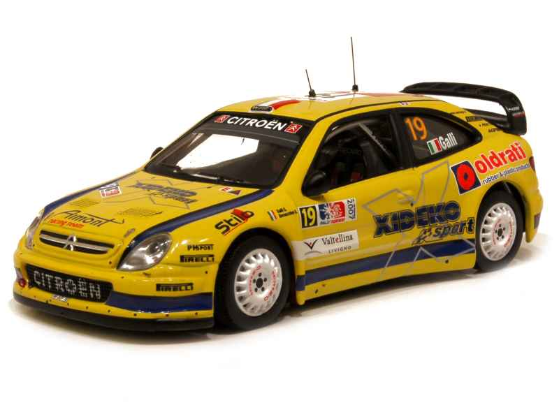 61840 Citroën Xsara WRC Rally Norway 2007