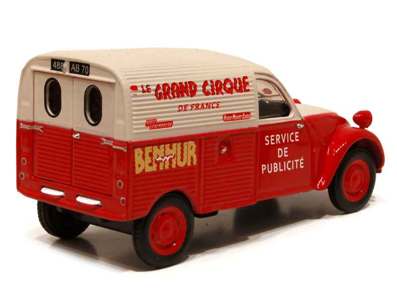 2cv fourgonnette miniature