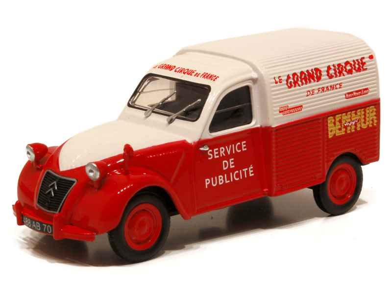 62023 Citroën 2CV Fourgonnette Grand Cirque