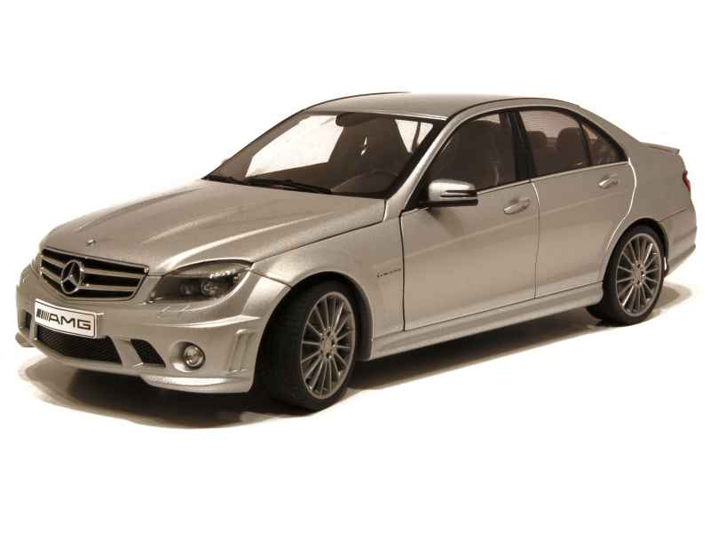 mercedes c63 amg w204 2008 autoart 1 18 autos miniatures tacot. Black Bedroom Furniture Sets. Home Design Ideas