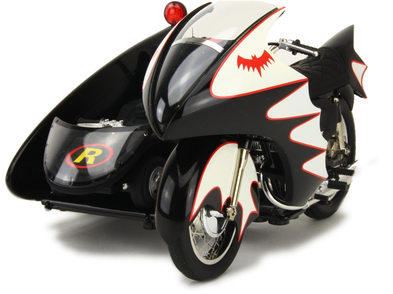 62141 Batmobile Batcycle Sidecar 1966