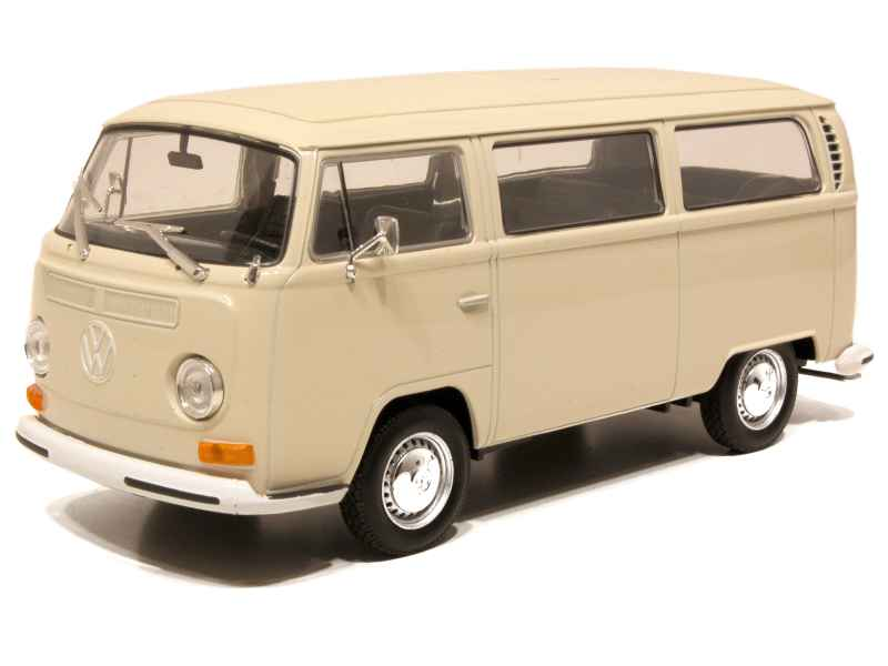 volkswagen combi t2 bus 1972 welly 1 24 autos miniatures tacot. Black Bedroom Furniture Sets. Home Design Ideas