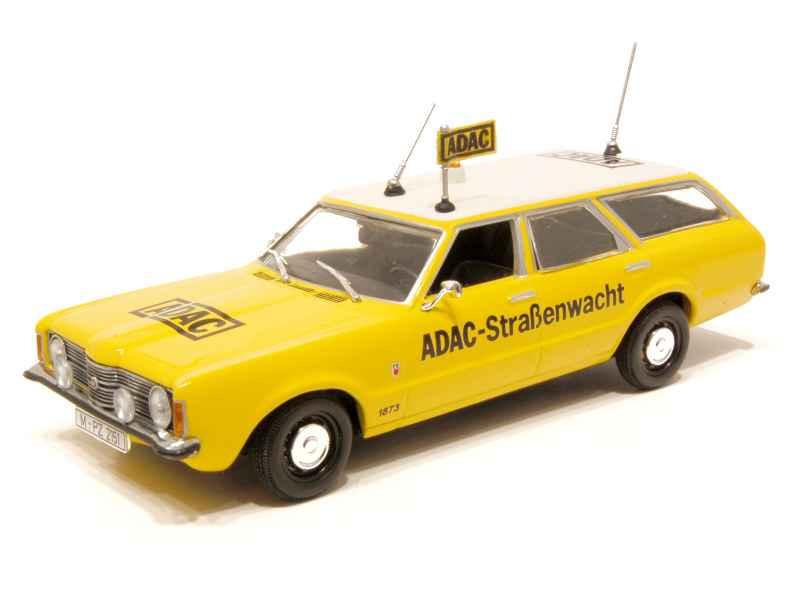 ford taunus break adac 1970 minichamps 1 43 autos. Black Bedroom Furniture Sets. Home Design Ideas