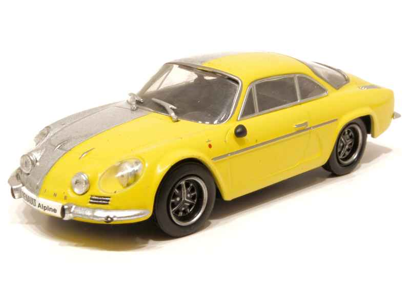 alpine a110 fasa 1971 x press h 1 43 autos miniatures tacot. Black Bedroom Furniture Sets. Home Design Ideas