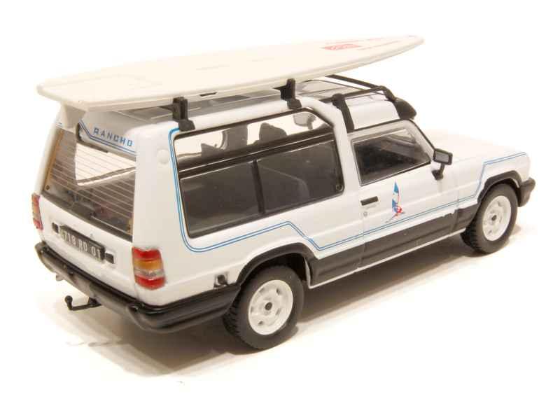 matra rancho jeanneau wind 1980 mod le presse al 1 43 autos miniatures tacot. Black Bedroom Furniture Sets. Home Design Ideas