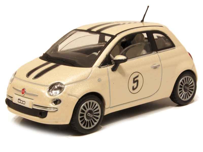 fiat 500 2007 solido 1 43 autos miniatures tacot. Black Bedroom Furniture Sets. Home Design Ideas