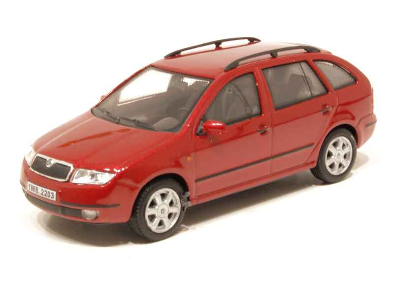 skoda fabia combi 2000 abrex 1 43 autos miniatures. Black Bedroom Furniture Sets. Home Design Ideas