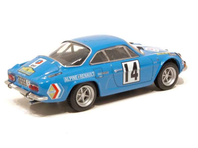 alpine a110 rally routes du nord 1970 mod le presse h 1 43 autos miniatures tacot. Black Bedroom Furniture Sets. Home Design Ideas