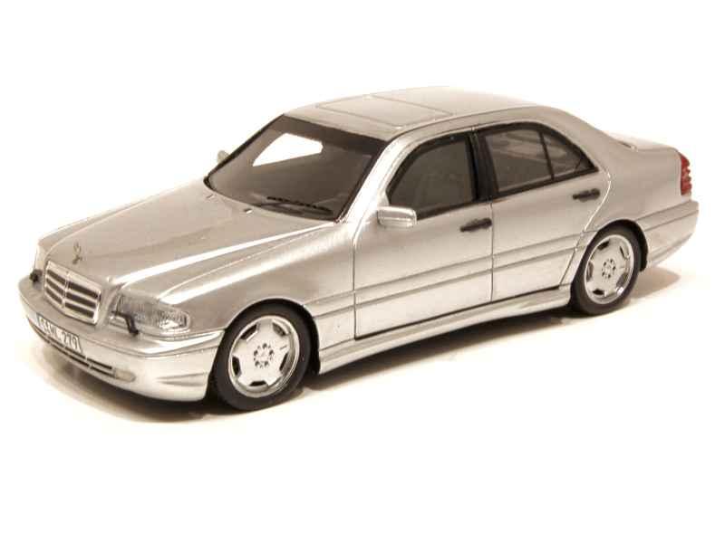 mercedes c43 amg w202 2000 spark model 1 43 autos miniatures tacot. Black Bedroom Furniture Sets. Home Design Ideas