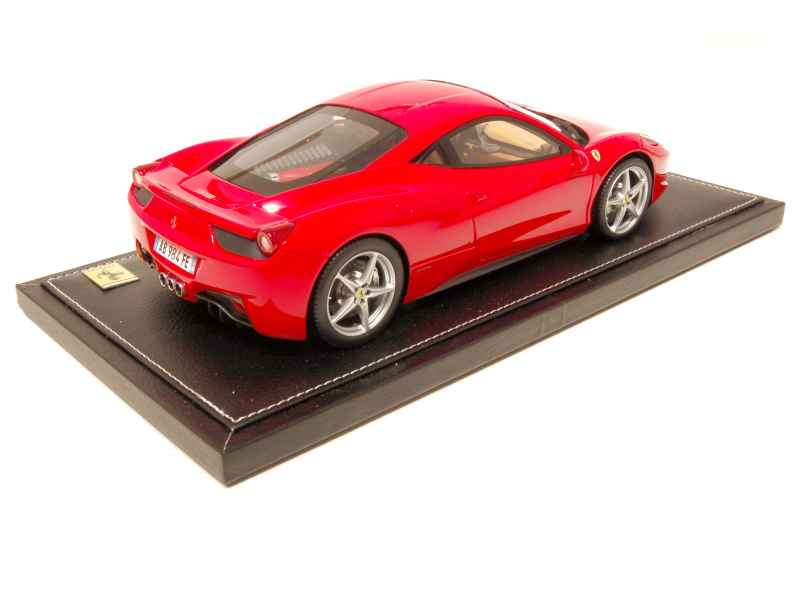ferrari 458 italia 2009 bbr 1 18 autos miniatures tacot. Black Bedroom Furniture Sets. Home Design Ideas
