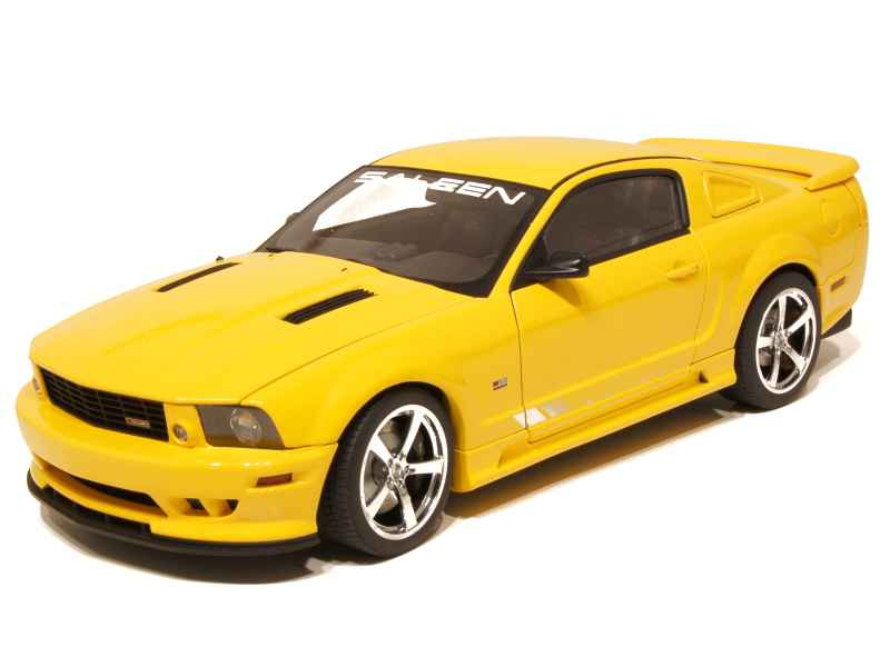 ford mustang s281 saleen 2006 autoart 1 18 autos miniatures tacot. Black Bedroom Furniture Sets. Home Design Ideas